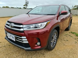 2017 Toyota Kluger GSU50R GXL 2WD Red 8 Speed Sports Automatic Wagon.