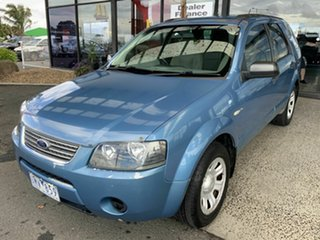 2006 Ford Territory SY TX (4x4) Blue 6 Speed Auto Seq Sportshift Wagon