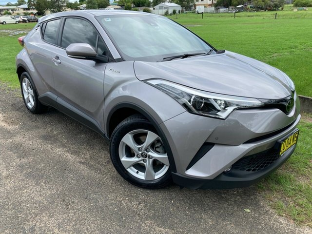 Used Toyota C-HR NGX10R S-CVT 2WD South Grafton, 2017 Toyota C-HR NGX10R S-CVT 2WD Shadow Platinum 7 Speed Constant Variable Wagon