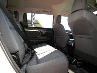 2014 Toyota Kluger GSU55R GX AWD Pearl White 6 Speed Sports Automatic Wagon