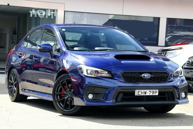 Used Subaru WRX V1 MY18 Premium Lineartronic AWD Homebush, 2017 Subaru WRX V1 MY18 Premium Lineartronic AWD Blue 8 Speed Constant Variable Sedan