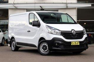 2015 Renault Trafic X82 103KW Low Roof SWB White 6 Speed Manual Van.