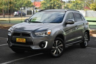 2014 Mitsubishi ASX XB MY14 Aspire 2WD Grey 6 Speed Constant Variable Wagon