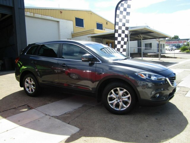 Used Mazda CX-9 TB10A5 Classic Activematic Moorooka, 2013 Mazda CX-9 TB10A5 Classic Activematic Grey 6 Speed Sports Automatic Wagon