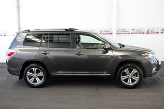 2012 Toyota Kluger GSU40R MY11 Upgrade KX-S (FWD) Graphite 5 Speed Automatic Wagon