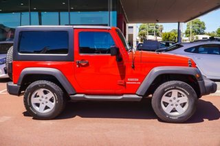 2012 Jeep Wrangler JK MY2012 Sport Red 6 Speed Manual Softtop