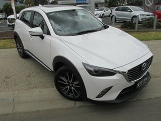2018 Mazda CX-3 DK2W7A Akari SKYACTIV-Drive White 6 Speed Sports Automatic Wagon.