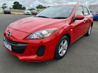 2013 Mazda 3 BL10F2 MY13 Neo Activematic Red 5 Speed Sports Automatic Hatchback.