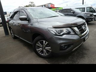 2018 Nissan Pathfinder R52 MY17 Series 2 ST-L (4x4) Grey Continuous Variable Wagon.