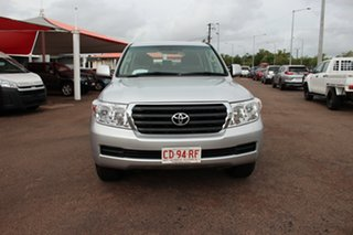 2010 Toyota Landcruiser VDJ200R MY10 GXL Silver Pearl 6 Speed Automatic Wagon.