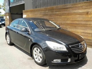 2013 Opel Insignia IN Black 6 Speed Sports Automatic Sedan.
