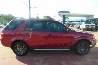 2008 Ford Territory SY SR2 RWD Red 4 Speed Sports Automatic Wagon.