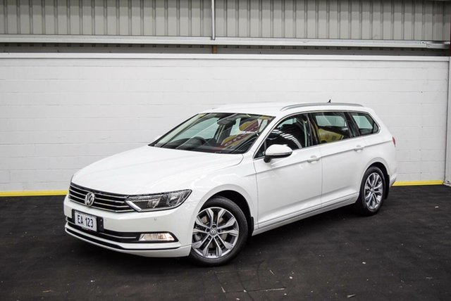Used Volkswagen Passat 3C (B8) MY18 132TSI DSG Canning Vale, 2017 Volkswagen Passat 3C (B8) MY18 132TSI DSG White 7 Speed Sports Automatic Dual Clutch Wagon