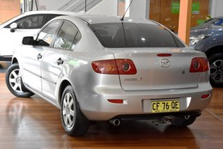2004 Mazda 3 BK10F1 Neo Silver 4 Speed Sports Automatic Sedan.