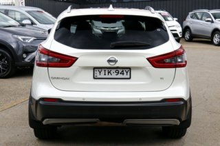 2018 Nissan Qashqai J11 Series 2 Ti X-tronic White 1 Speed Constant Variable Wagon