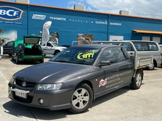 2007 Holden Crewman VZ MY06 S Grey 4 Speed Automatic Utility.