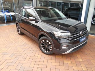 2020 Volkswagen T-Cross C1 MY20 85TSI DSG FWD Life Deep Black 7 Speed Sports Automatic Dual Clutch.