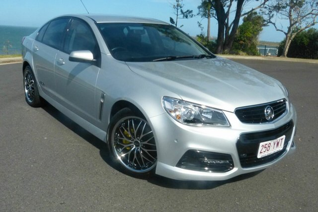 Used Holden Commodore VF MY14 SS Gladstone, 2013 Holden Commodore VF MY14 SS Silver 6 Speed Manual Sedan