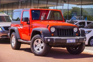 2012 Jeep Wrangler JK MY2012 Sport Red 6 Speed Manual Softtop.