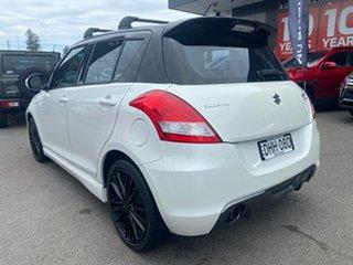 2016 Suzuki Swift FZ MY15 Sport White 6 Speed Manual Hatchback