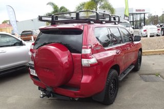 2016 Toyota Landcruiser Prado GDJ150R GXL Red 6 Speed Sports Automatic Wagon