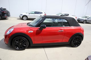 2017 Mini Convertible F57 Cooper S Red/Black 6 Speed Sports Automatic Convertible