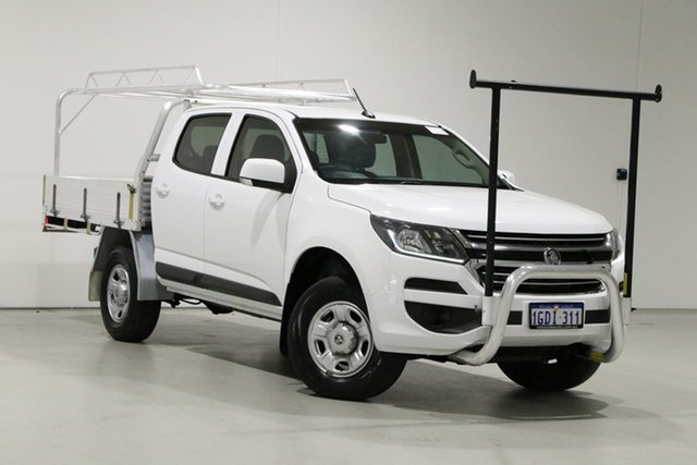 Used Holden Colorado RG MY17 LS (4x2) Bentley, 2016 Holden Colorado RG MY17 LS (4x2) White 6 Speed Automatic Crew Cab Chassis