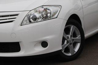 2011 Toyota Corolla ZRE152R MY11 Conquest White 4 Speed Automatic Hatchback