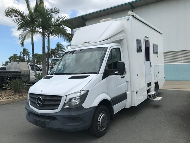 Used Mercedes-Benz Sprinter NCV3 MY14 519CDI LWB 7G-Tronic Acacia Ridge, 2015 Mercedes-Benz Sprinter NCV3 MY14 519CDI LWB 7G-Tronic White 7 speed Automatic Cab Chassis