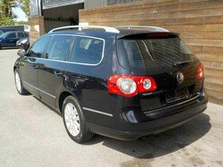 2007 Volkswagen Passat Type 3C MY08 TDI DSG Black 6 Speed Sports Automatic Dual Clutch Wagon