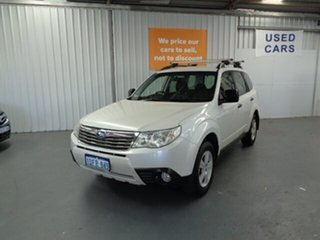 2009 Subaru Forester S3 MY09 X AWD Limited Edition White 5 Speed Manual Wagon.