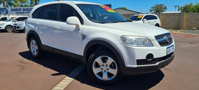 Used Holden Captiva CG SX AWD East Bunbury, 2007 Holden Captiva CG SX AWD White 5 Speed Manual Wagon