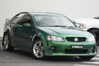 2010 Holden Commodore VE MY10 SV6 Green 6 Speed Sports Automatic Sedan.