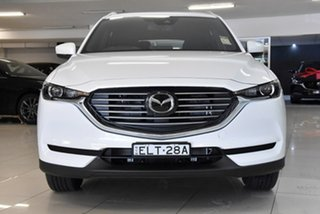 2020 Mazda CX-8 KG2WLA Sport SKYACTIV-Drive FWD White 6 Speed Sports Automatic Wagon.