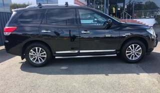 2014 Nissan Pathfinder R52 MY14 ST-L X-tronic 4WD Black 1 Speed Constant Variable Wagon.