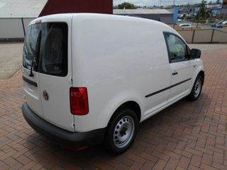 2020 Volkswagen Caddy 2KN MY20 TSI220 SWB DSG Candy White 7 Speed Sports Automatic Dual Clutch Van