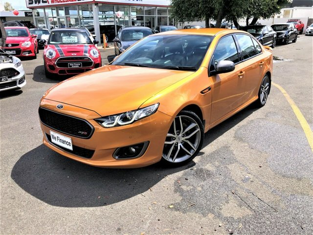 Used Ford Falcon FG X XR6 Turbo Seaford, 2014 Ford Falcon FG X XR6 Turbo Orange 6 Speed Sports Automatic Sedan