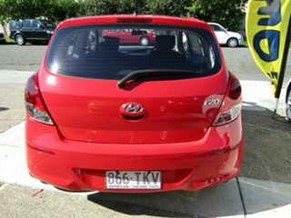 2013 Hyundai i20 PB MY14 Active Red 6 Speed Manual Hatchback.