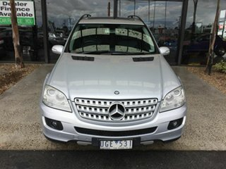 2006 Mercedes-Benz ML350 W164 4x4 Silver 7 Speed Automatic G-Tronic Wagon.