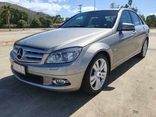 2008 Mercedes-Benz C-Class W204 C200 Kompressor Avantgarde Cubanite Silver 5 Speed Sports Automatic