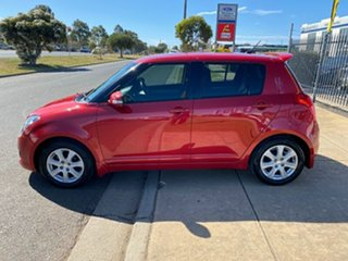 2010 Suzuki Swift RS415 RE4 Red 4 Speed Automatic Hatchback