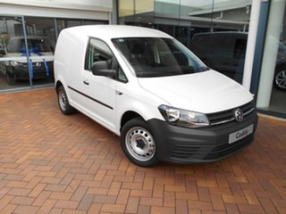 2020 Volkswagen Caddy 2KN MY20 TSI220 SWB DSG Candy White 7 Speed Sports Automatic Dual Clutch Van.