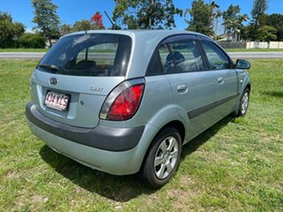 2007 Kia Rio JB MY07 EX Blue 4 Speed Automatic Hatchback