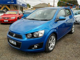 2013 Holden Barina TM MY13 CDX Blue 6 Speed Automatic Hatchback.