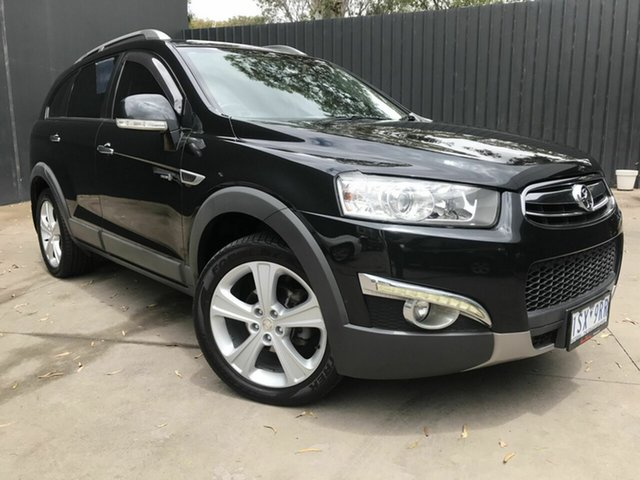 Used Holden Captiva CG Series II 7 LX (4x4) Fawkner, 2011 Holden Captiva CG Series II 7 LX (4x4) Black 6 Speed Automatic Wagon