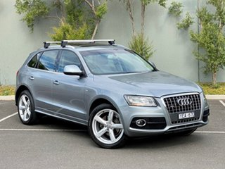 2010 Audi Q5 8R MY11 TDI S Tronic Quattro Grey 7 Speed Sports Automatic Dual Clutch Wagon.
