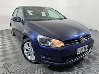 2013 Volkswagen Golf VII 90TSI DSG Comfortline Blue 7 Speed Sports Automatic Dual Clutch Hatchback