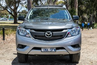 2018 Mazda BT-50 UR0YG1 XT Silver 6 Speed Sports Automatic Utility