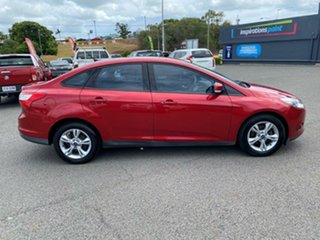 2013 Ford Focus LW MkII Trend PwrShift Red 6 Speed Sports Automatic Dual Clutch Sedan.