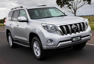 2011 Toyota Landcruiser Prado KDJ150R 11 Upgrade GXL (4x4) Graphite 5 Speed Sequential Auto Wagon.